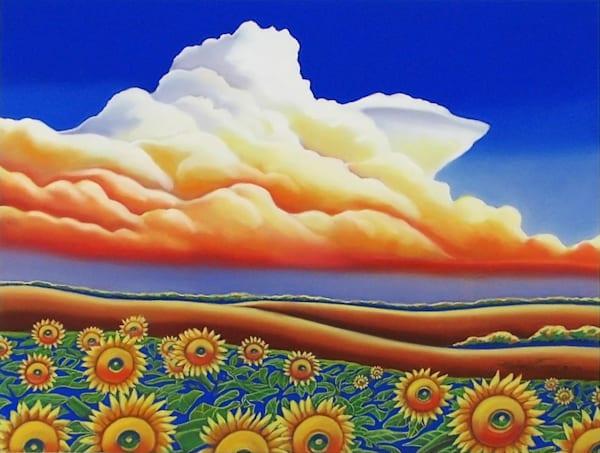 Michael Duane - Sunflower Colors - Pastel - 24 X 30 - 1500