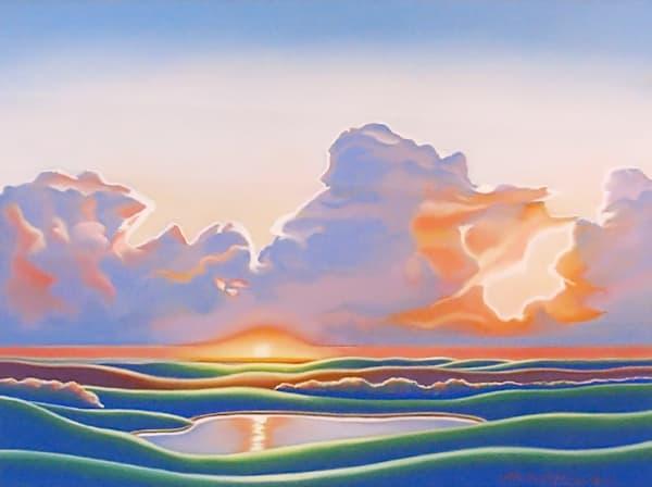 Michael Duane - Afternoon Glow -Pastel - 24 X 30 - 1650