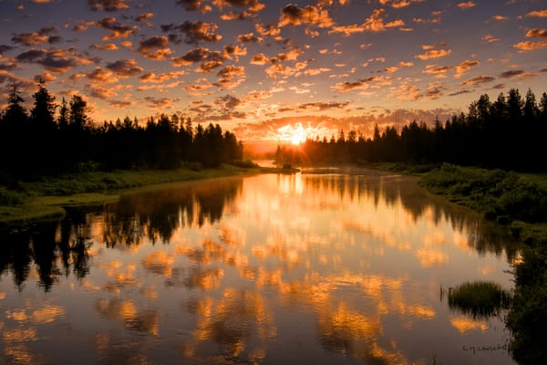 1475 Buffalo River Sunrise