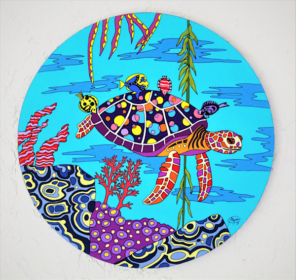 Turtles are very peculiar animals that look like from another time