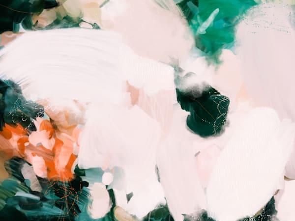 No.0918 - Green abstract art print