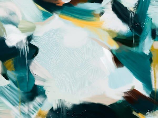 No.1218 - Blue abstract art print