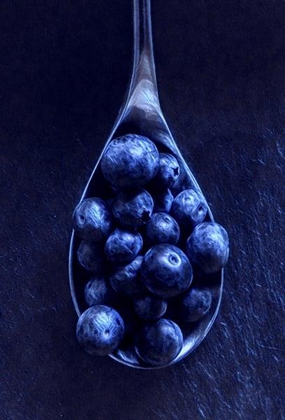 Blueberries Spoon