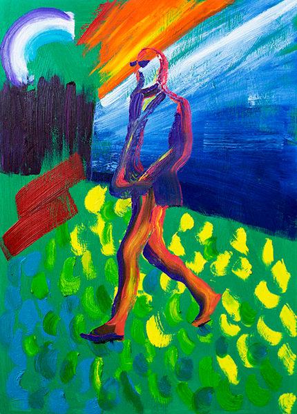 Nobodies fault, oil on canvas, by Stuart Bush