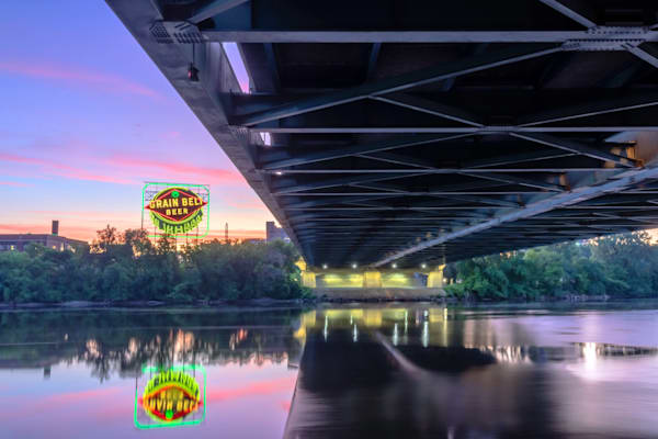 Grain Belt Under Hennepin Ave Bridge - Minneapolis Photos | William Drew