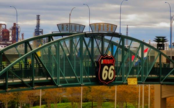 Route 66 Tulsa Sign