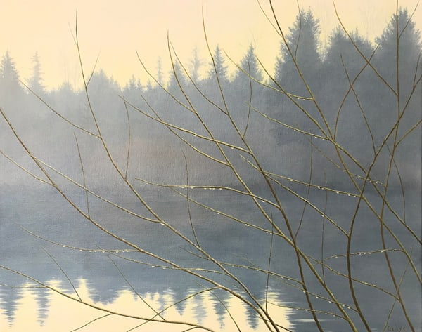 Lake Morning Art | Fountainhead Gallery