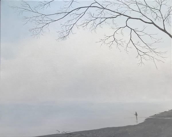 Casting Into The Mist Art | Fountainhead Gallery