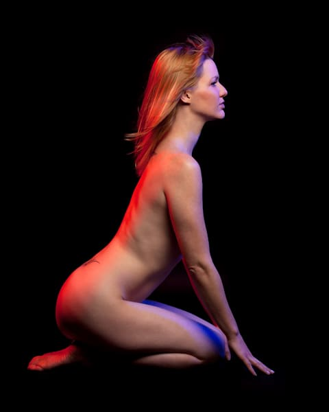 Colleen 2 - Fine Art Nude Print by Christopher Gatelock
