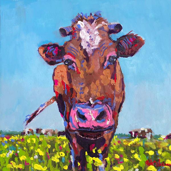 Original Art of Cows | Original Oil Paintings and Prints