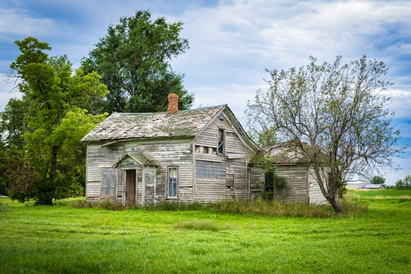 Weathered Farm House | Jim Parkin Fine Art Photography