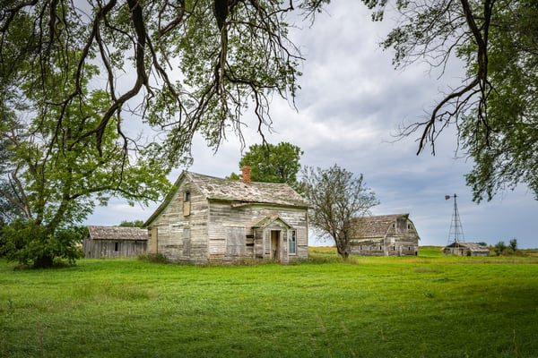 Abandoned Farmstead | Jim Parkin Fine Art Photography