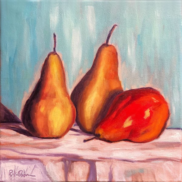 Pears Leaning Towards Red