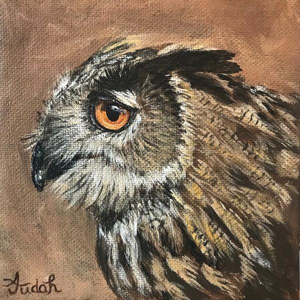 Owl 3/3 Art | alanajudahart