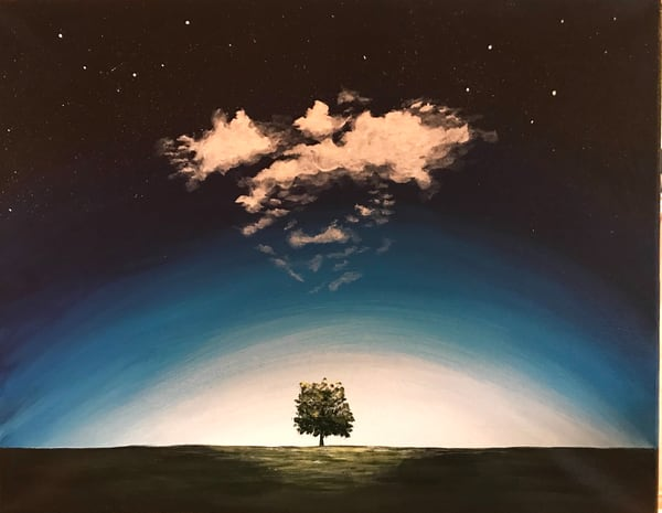 Solitary #6 Art | alanajudahart