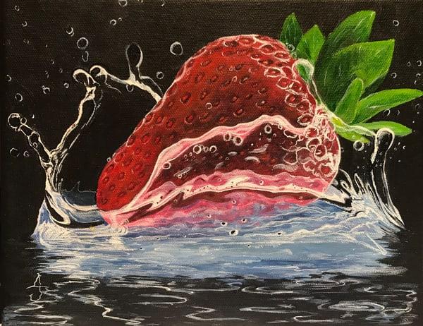 Berry Splash Art | alanajudahart