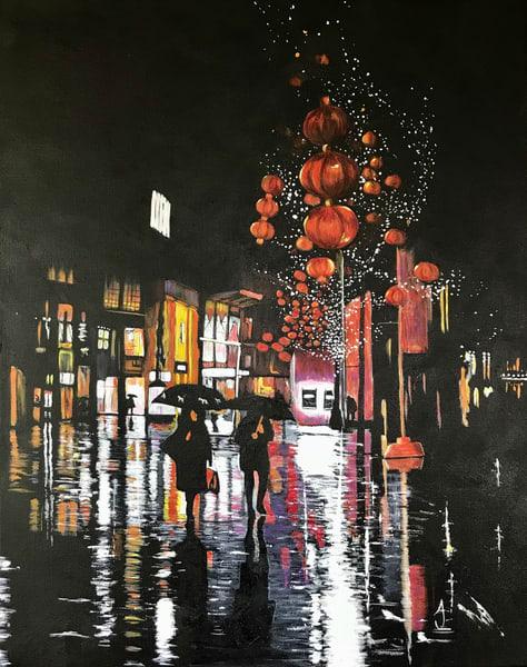 I Love A Rainy Night Art | alanajudahart