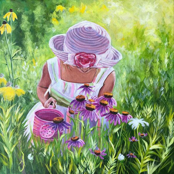 Mae's Flowers Art | alanajudahart