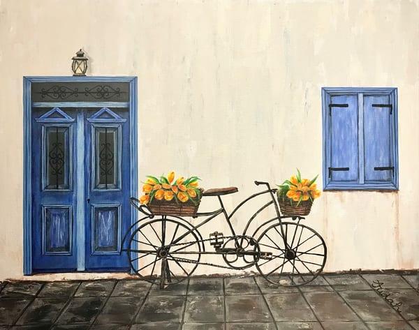 The Blue Door Art | alanajudahart