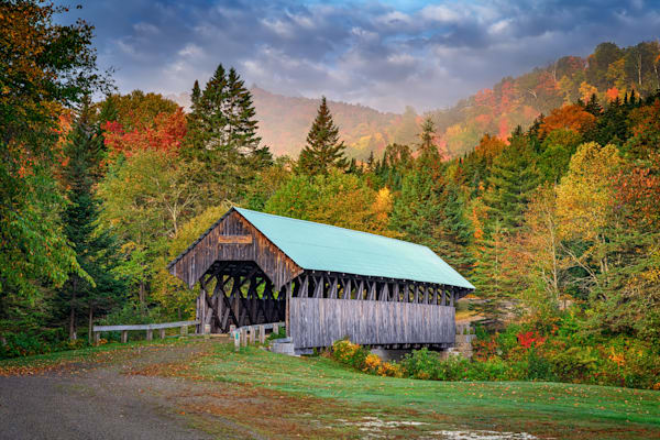 Autumn at Bennett Bridge   Shop Photography by Rick Berk