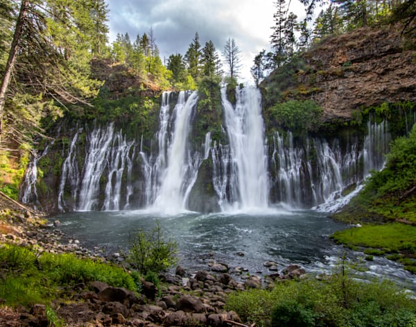 Springtime at Burney Falls