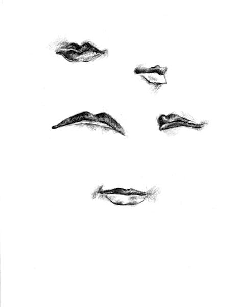 lip drawing