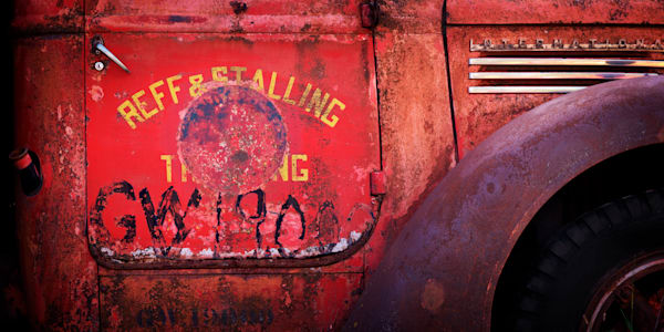 Red Truck Photography Art | templeimagery