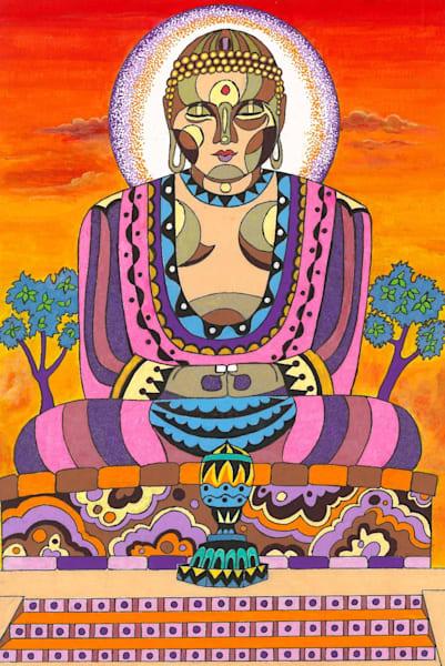 Buddah in meditation