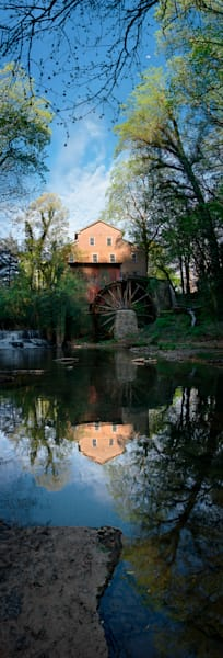 Moon Over Falls Mill