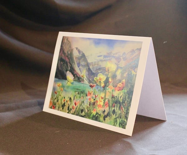 Lake Louise art card