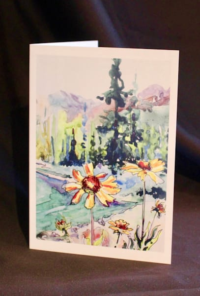 Lake Annette Art Card