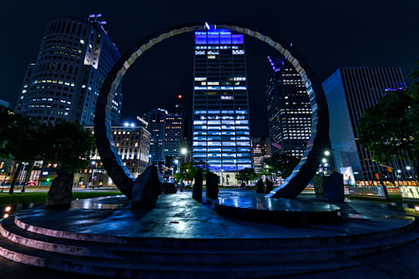 Detroit's Hart Plaza photography prints