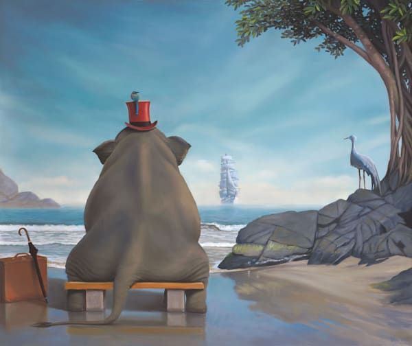 Lahaina Art Gallery presents Magical Realism Artist Paul Bond
