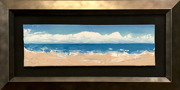 Sand and Sky mini Painting | Fer Caggiano Art