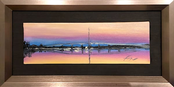 Sunrise at Dunes West Painting | Fer Caggiano Art