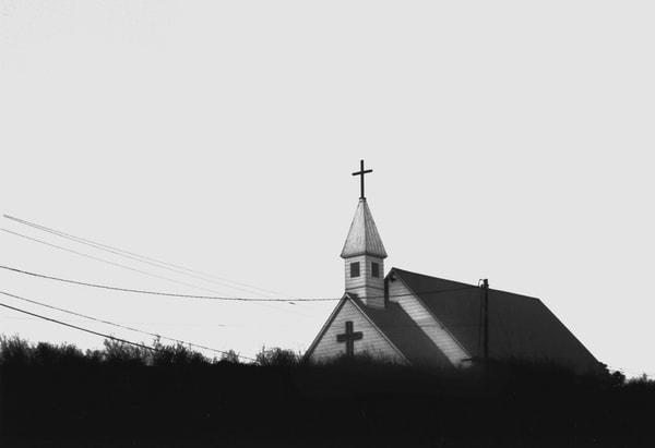 Church On Bluff Photography Art | Peter Welch