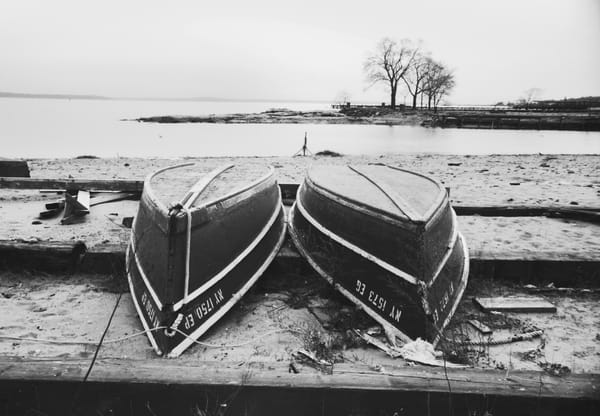 Row Boats On Long Island Sound Photography Art | Peter Welch