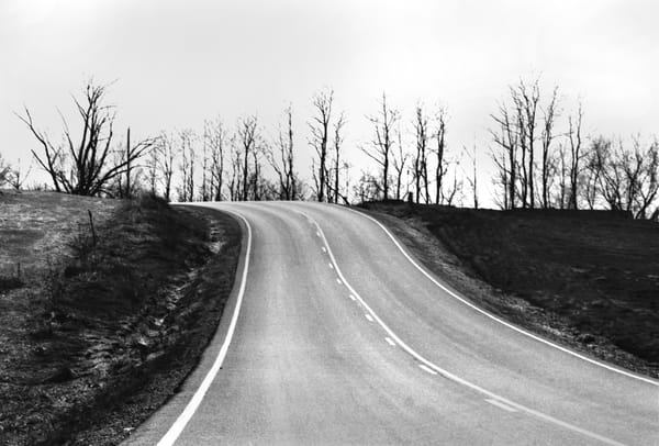 Dip In Road Photography Art | Peter Welch