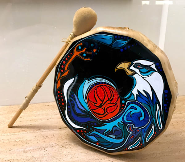 Carrol Spear Raven Drum