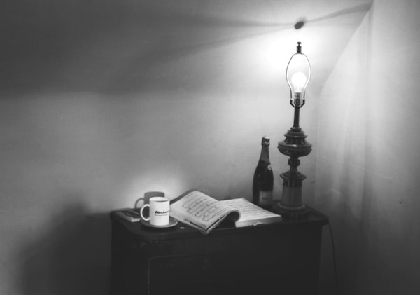 Songbook & Naked Lamp Photography Art | Peter Welch