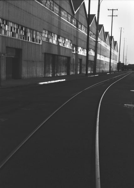 Tracks Warehouse Photography Art   Peter Welch