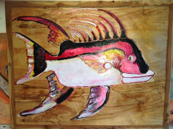 HOGFISH KRUPA - SOLD- COMMISSION ONE LIKE THIS!