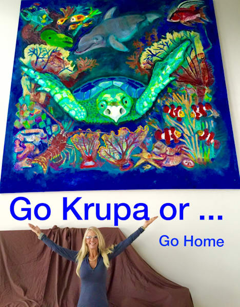 Sea Turtle Krupa  Sold  Commission One Like This! Art | STACIE KRUPA FINE ART - THE COLLECTION