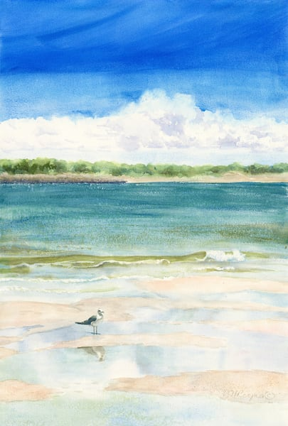 Sandbar Dreaming Art for Sale