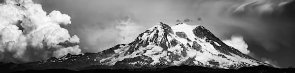 Shop Mount Rainier Storm Cloud Landscape Photographs