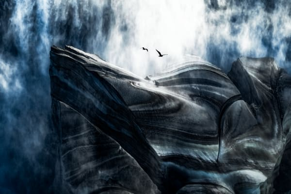 Glacial Flight Photography Art | Trevor Pottelberg Photography