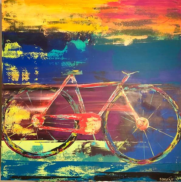 Bike Ride Art | benbonart