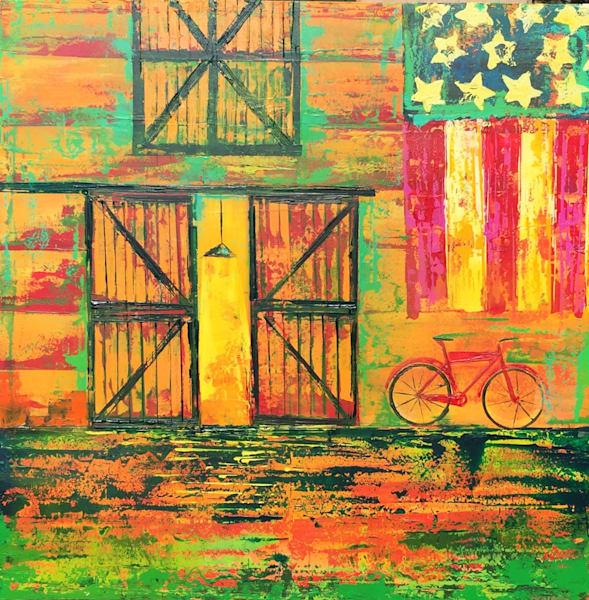 Country Barn Art | benbonart