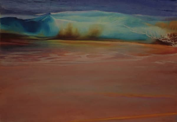 Maui Art Gallery features original paintings of abstract landscapes by Artist Diana Lehr