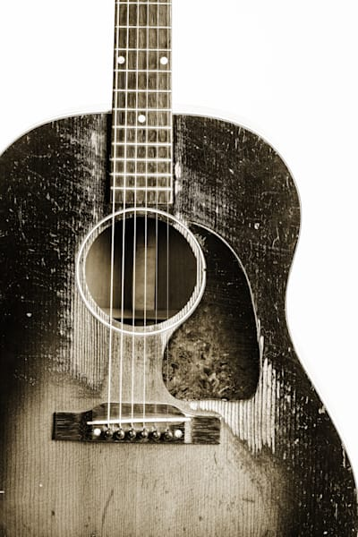446.1834 Gibson J45 In Black and White